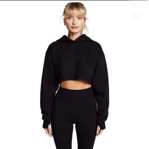 Free People Movement Where I'm At Cropped Hoodie